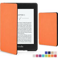 Kindle Paperwhite 2018 Case   Smart Protective Cover Case Slim Shell   Orange