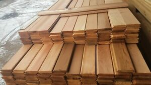 Canadian Western Red Cedar Tongue And Groove Timber Cladding (7m²) - TGV