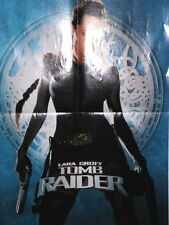 Affiche de Cinéma Poster Lara Croft Tomb Raider Angelina Jolie
