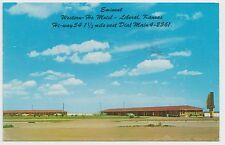 Vintage Postcard ~ WESTERN HO MOTEL Highway 54, LIBERAL, KANSAS ~  Used