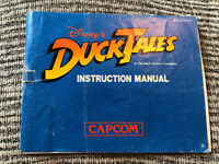 Nintendo Nes Manual Only :- Disney Duck Tales