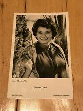Sophia Loren Postcard Rare Germany No. 3854 Rare