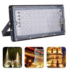 50W LED Fluter Alu Baustrahler Außen Flutlicht Scheinwerfer Wasserdicht  IP65