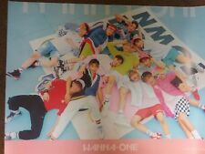 """KPOP """" WANNA ONE """" Official Poster ; [1x1=1 To Be One]  PINK VER."""