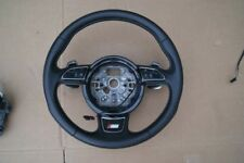 LEATHER STEERING WHEEL  WITH SHOVELS AUDI S7 4G8 NR: 4G8419091G
