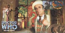 "Doctor Who ""Paradise Towers"" Collectable Stamp Cover - Signed SYLVESTER McCOY"