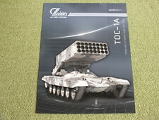 TOS-1A Russian Heavy Flamethrower System Brochure Russia Army