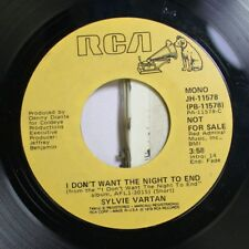 Rock Promo Nm! 45 Sylvie Vartan - I Don'T Want The Night To End / I Don'T Want T