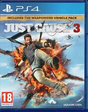 PS4 - Just Cause 3 - Includes Weaponised Vehicle Pack (Sony PlayStation 4, 2016)