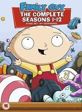 Family Guy Seasons 1-12 - DVD Region 2