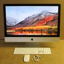 """Apple iMac 14,2 27"""" Core i5-4570 3.2GHz 8GB Ram 525GB SSD High Sierra OS"""