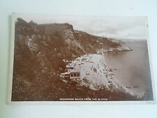 Vintage RP Postcard ODDICOMBE BEACH FROM THE SLOPES Franked+Stamped 1929