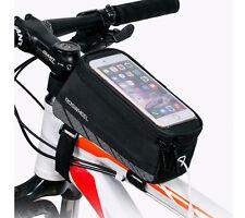 Bags Waterproof Phone Holder Bikes Case Handlebar Mount Bicycle Pouch GPS Cradle