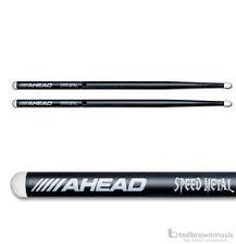 Ahead Drumsticks - JJ1 Speed Metal Aluminum Drum Sticks - Nylon Tip - 1 Pair