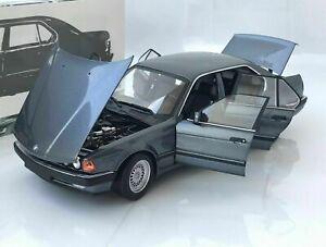 Minichamps 1986 BMW 730I (E32) Grey Metallic Color 1:18*Brand New!*VERY NICE!!