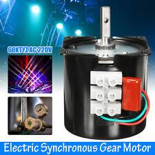 AC 220V 60RPM a 60 KTYZ cambio di velocità elettrico motore sincrono velocità riducendo la coppia