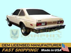 1979 Plymouth Volare Duster Decal Stripe Kit