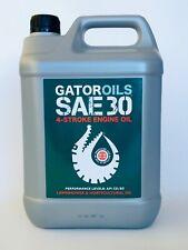 5 Litre Gator SAE 30 4 Stroke Lawnmower Oil Briggs & Stratton, Honda etc