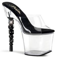 Calzado de mujer blancos Pleaser sintético