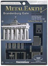Fascinations Metal Earth 3D Laser Cut Steel Model Kit - Brandenburg Gate