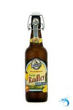 MÖNCHSHOF Kulmbacher Natur Radler ALKOHOLFREI ~ 20 Flaschen Biermischgetränk