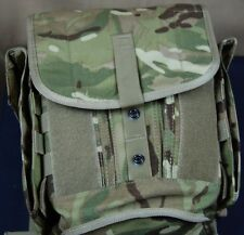 Genuine British Army Issue MTP Gas Mask Bag / Respirator Case / Camo Field Pack