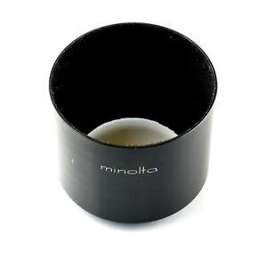Genuine Minolta 52mm screw Metal Hood for MC 135mm f3.5