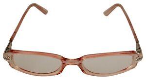 PERSOL Sunglasses 2660-V Orange Clear Transparent Rectangle Glasses Frame