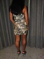 miss army cadet short minidress fancy dress clubbing +  brand new accessories