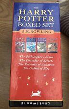 It's Magic! Harry Potter boxed set of 1-4 paperback books, Xmas, Christmas gift