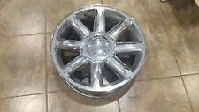 08 09 10 11 12 13 GMC Denali 20 Inch Wheel Rim Factory OEM Chrome Used