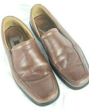 Ecco Arlanda Leather Slip-On Fashion Dress Casual Loafer 43 Brown