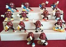 California raisins figures 1987-1988 Lot Of 14