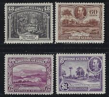 British Guiana 1934 George V Pictorial set Sc# 210-22 mint