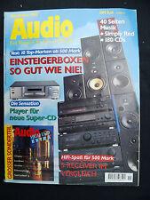 AUDIO 11/95.SAC 50,TAUDIO QUASAR CAPELLA,BOW ZZ ONE.VAC PA 80/80,RÄKE SOLIDITA