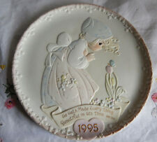 Precious Moments Plate 1995 He Hath Made Every Thing Beautiful In His Time