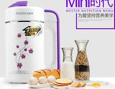 CHINA MESTER DJ08B-W15QG soya bean milk machine 0.6L  soymilk maker  220-240v