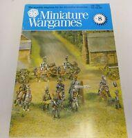 Miniature Wargames Number 8 80's oop SC