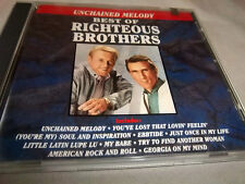 Righteous Brothers-BEST OF (Unchained Melody)  Oct-1990 Curb, MINT CD