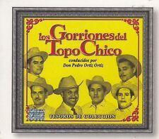 Los Gorriones Del Topo Chico  Tesoros de Coleccion 2CD New Nuevo sealed
