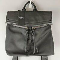 Botkier New York Black Mini Nylon Trigger Backpack