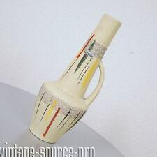 alte Scheurich Europ Linie Keramik Vase Tischvase 36,5 cm mid Century 50er Jahre