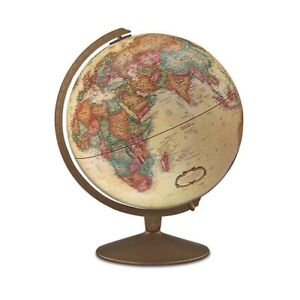 Franklin 12-inch Antique Globe