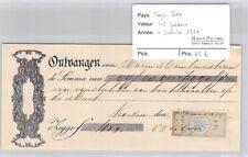 BILLET PAYS BAS - 45 GULDENS - 4 JANVIER 1884