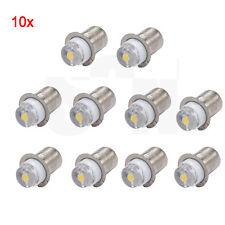 10x P13.5s PR2 PR3 6000K 0.5W 3V 6V 12V Maglite LED Bulb Magnum Torch FLAHSLIGHT