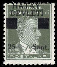 "HATAY 2a - Kemal Ataturk ""Provisional"" - Small 25 Variety (pf94513)"