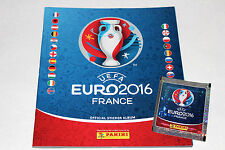 Panini UEFA EM EURO 2016 FRANCE – INTERNATIONAL EDITION LEERALBUM EMPTY ALBUM