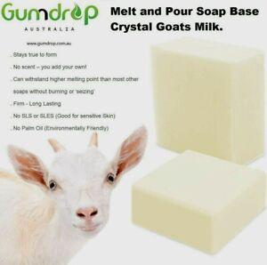 Pure Goats Milk~ Melt & Pour Soap Base ~ Soap & Candle Making Supplies Low Sweat