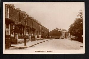 Sabden, Rydal Mount - north west of Burnley - real photographic postcard