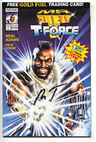 Mr. T And The T-Force 1 Now 1993 NM Signed B. A. Baracus Laurence Tureaud Card